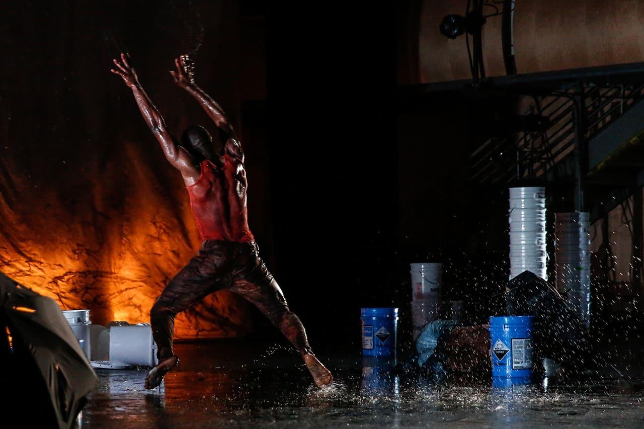 Photo: Agua Furiosa, Ana Maria Alvarez / CONTRA-TIEMPO, credit: Steve Wylie